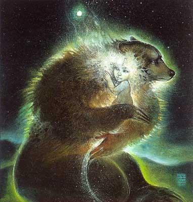 'Bear-Woman' by Susan Boulet